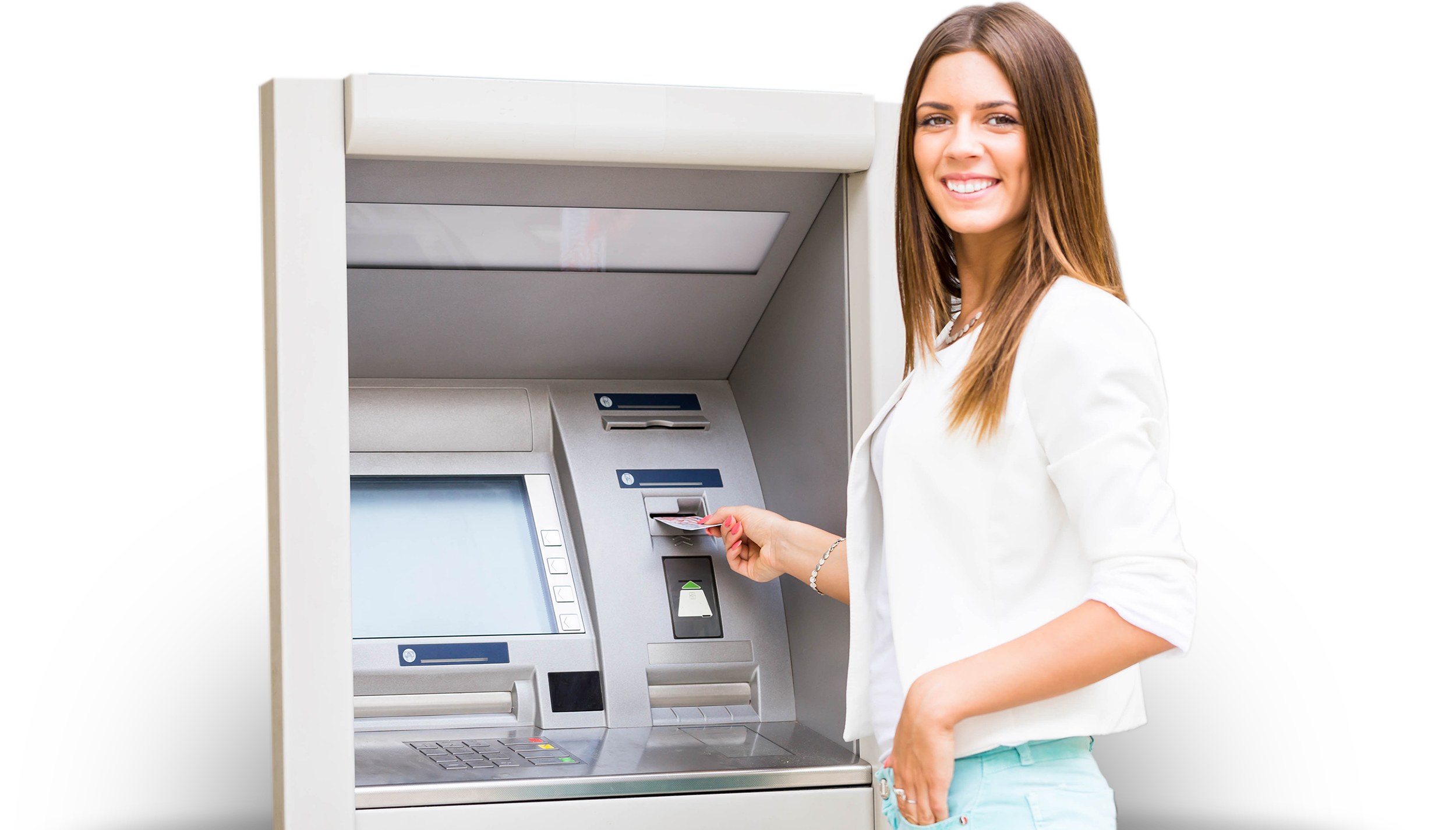 ATM happy customer no explosion